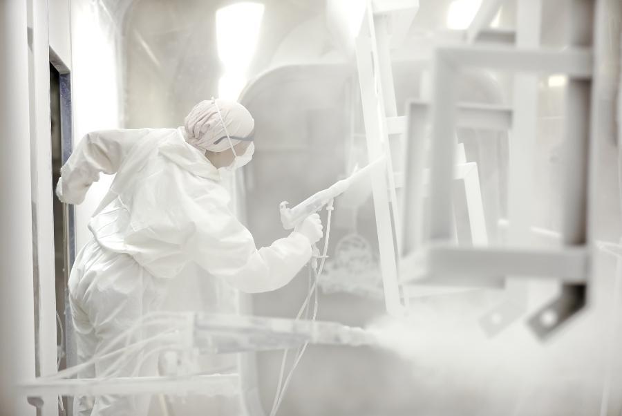 Industrielle Metallveredelungspulverbeschichtung