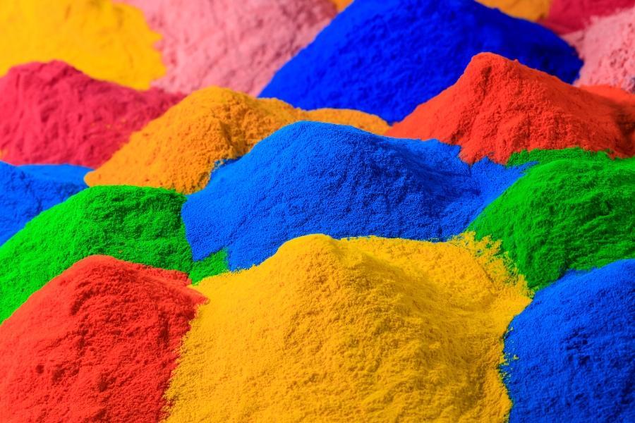 pulver-farben