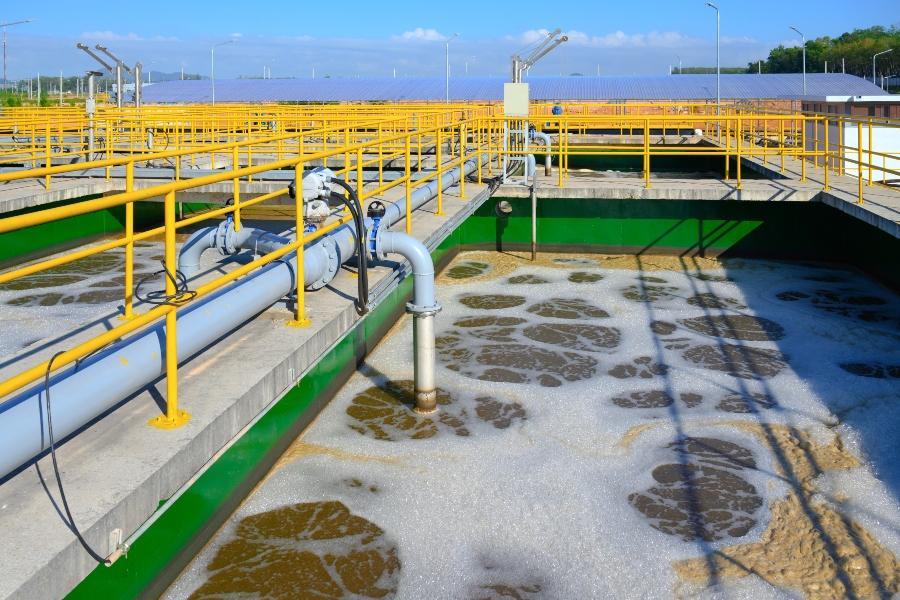 Abwasserbehandlung Klaeranlage emulsionsspaltung-abwasserbehandlung