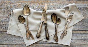 Angelaufenes Silber - Verfärbungen von Metall und Kunststoff