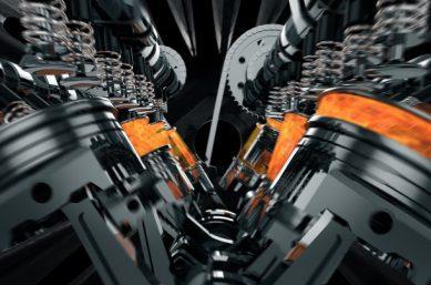 Motor von innen - Temperaturbeständigkeit von Lack und Schmierstoffen
