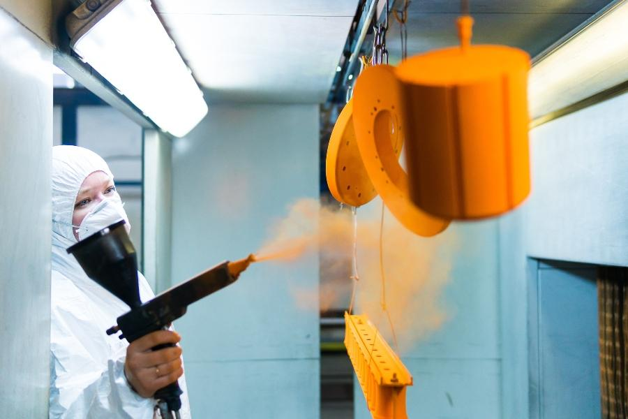 Pulverbeschichtung von Metallteilen inhaltsstoffe-von-lacken