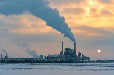 Chemieanlage - Umweltbelastung