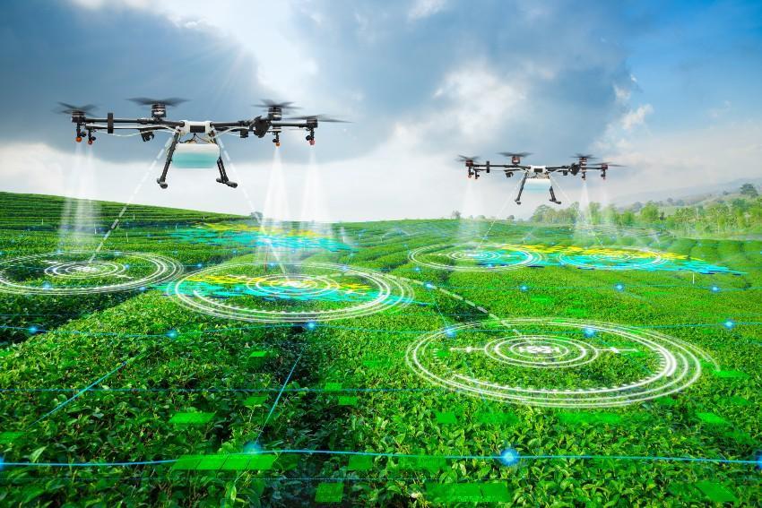Smarte Drohnen scannen den Boden