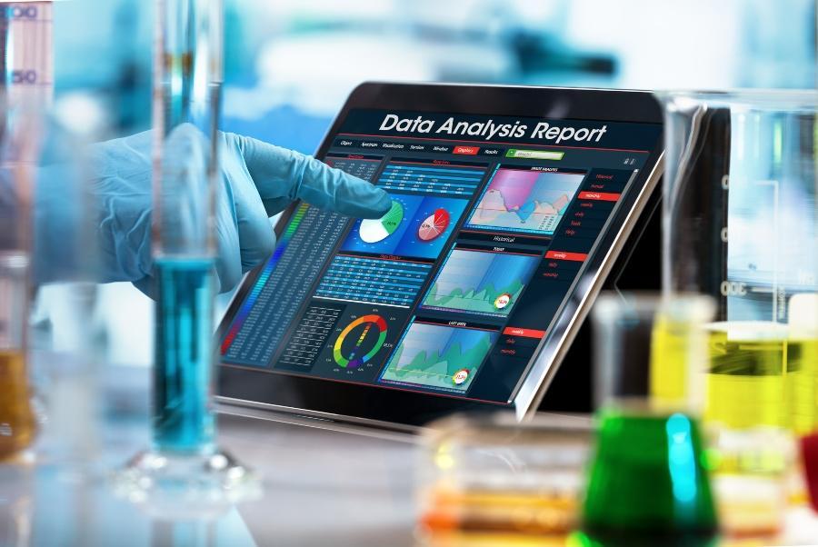 Bereiche Digitalisierung in der Chemie