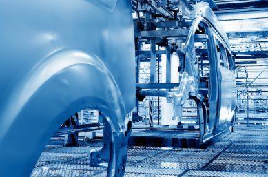 Moderne Autoproduktion - Prozesseffizienz verbessern