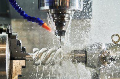 SNC Bohrmaschine - Anlagenstillstand