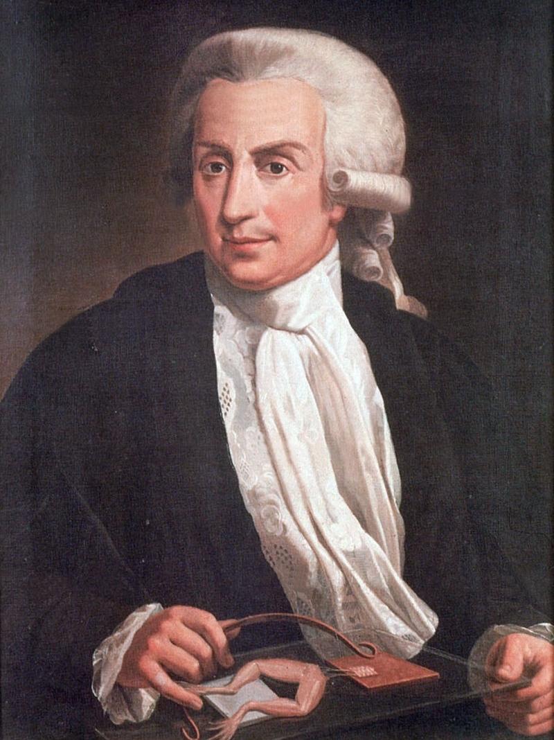 Porträt von Luigi Galvani (1737-1798)