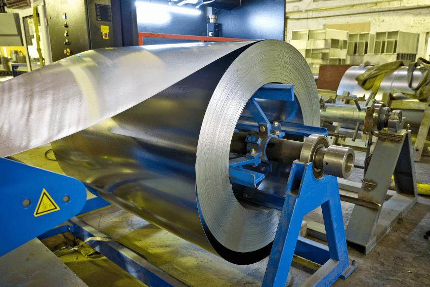 Gewalzter und galvanisierter Stahl
