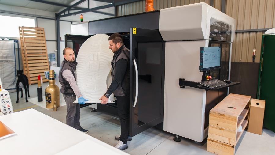 Werkstück aus einem 3D-Drucker - Near Net Shape Manufacturing