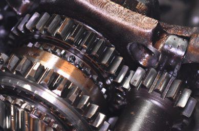 Getriebe, Nahaufnahme - Tribosystem